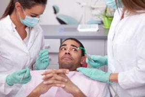 Nervous for the dentist